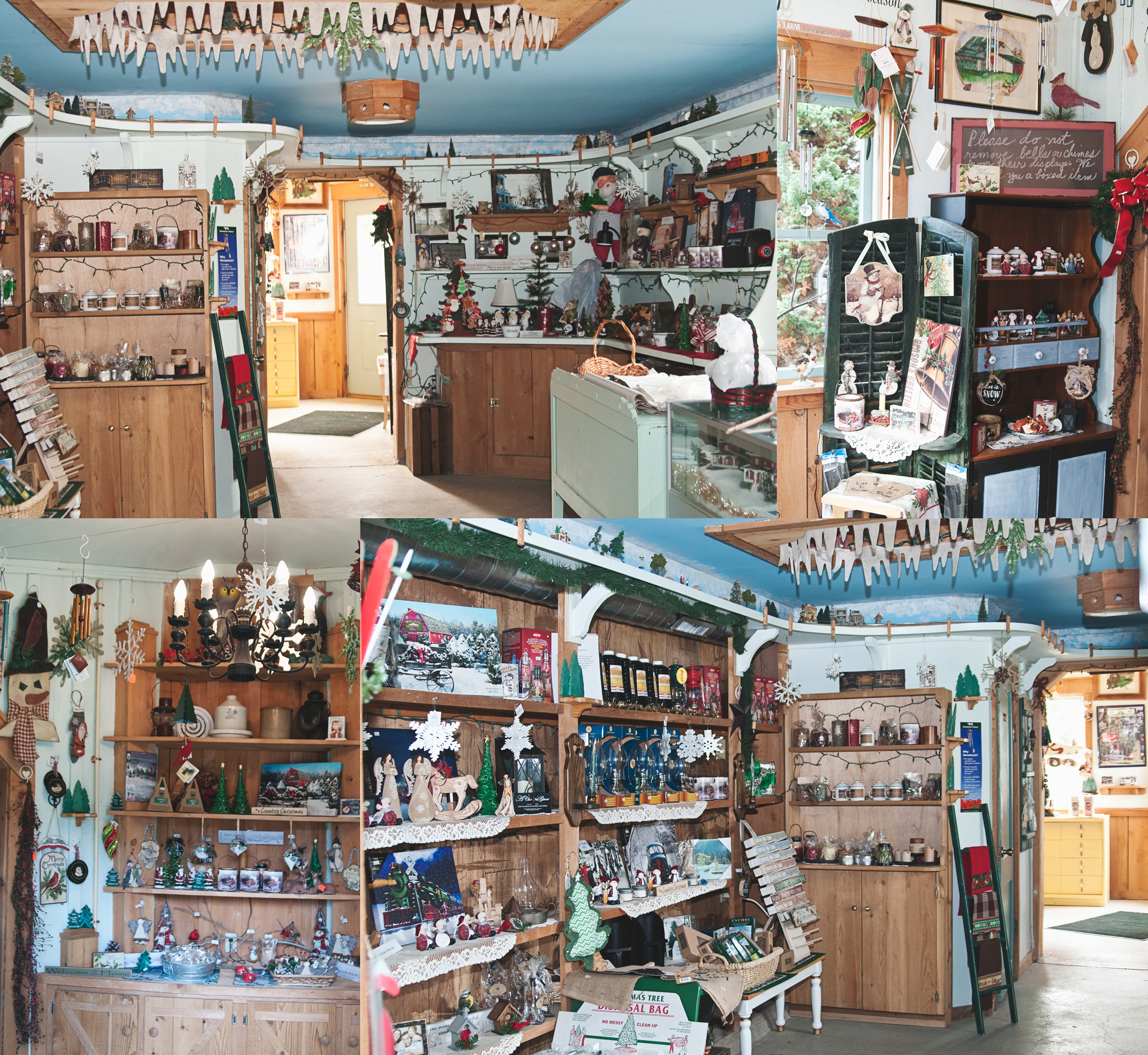 Country Pines Christmas Tree Farms: Country Pine Farm Gift Shop